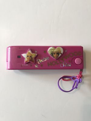 Vintage Hollywood Star Barbie Pink Camera Film 400 Gold Barbie Toy for Sale in Pinole, CA