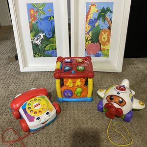 Pictures And Learning Toys All For $10 for Sale in Portland, OR