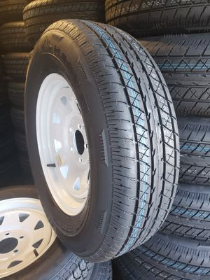 205 75 R15 trailer tire and wheel brand new for Sale in Jacksonville, FL