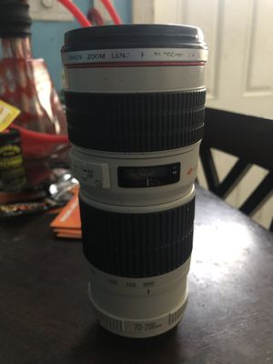 Canon 70-200mm Lens F.4 for Sale in Hollywood, FL