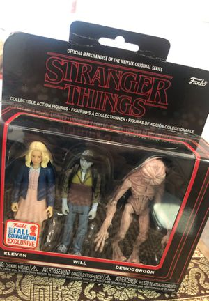 Funko Stranger Things collectible action figures for Sale in Seattle, WA