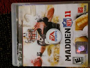 Madden NFL 11 for Ps3 for Sale in San Diego, CA