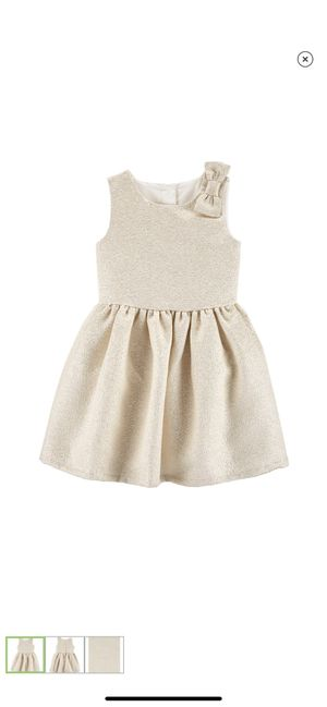 NWT Girl Carter's Bow Holiday Dress 3T for Sale in Gaithersburg, MD