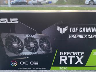 ASUS TUF GEFORCE RTX 3070 NVIDIA for Sale in Arcadia,  CA