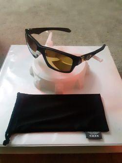 Oakley Jupiter Squared Matte Black 24k Polarized Custom Sunglasses for Sale in Herndon,  VA