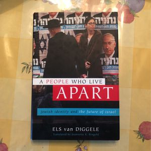 A People Who Live Apart Jewish /Israel Book By ELS Van Diggele for Sale in Walnut, CA