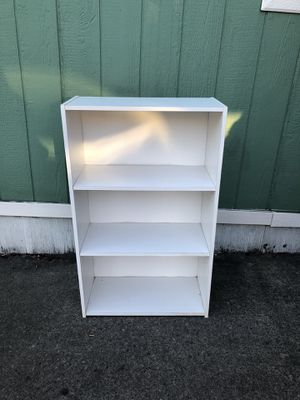 Smaller White Bookcase for Sale in Troutdale, OR