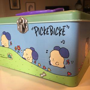 "Vintage Authentic Sanrio ""Picke Bicke"" Metal Box for Sale in Glendale, CA"