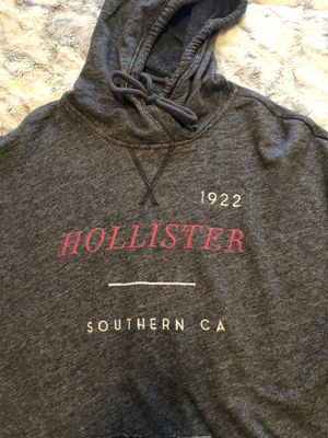 """Hollister "" Gray Hoodie Size L for Sale in Marysville, WA"