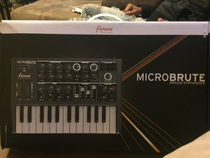 MicBrute Analog Synthesizer for Sale in Waterbury, CT