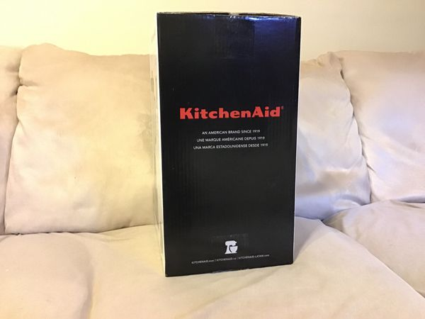Kitchen aid blender brand new never been used