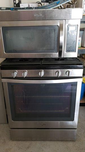 3 piece Whirlpool Stainless steel appliances for Sale in Ellenwood, GA