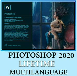 Photoshop cc 2020 lifetime pre-activated for windows for Sale in Los Angeles, CA
