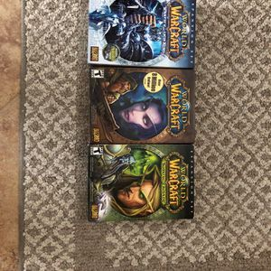 World Of Warcraft Bundle For PC for Sale in Southington, CT