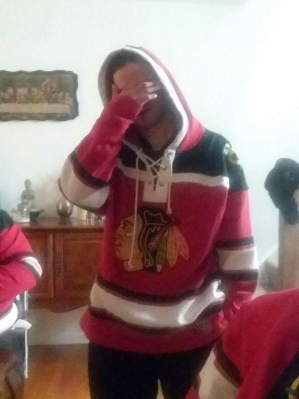 Chicago black hawks hoodies