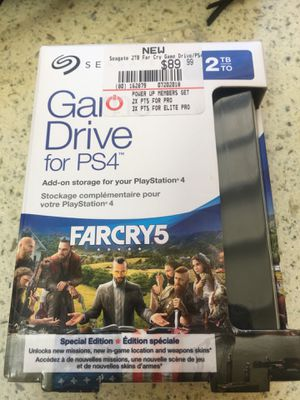 2TB Game Drive Memory for PS4 for Sale in Tempe, AZ