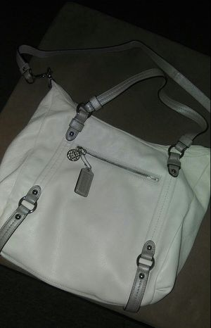 Coach leather large bag for Sale in Silver Spring, MD