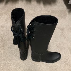 Coach Rain Boots Size 6 for Sale in Spring, TX