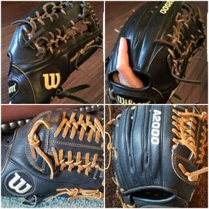 Wilson A2000 Superskin Baseball Glove Softball 12.5 and 11.25 - 2 Available - HUGE VALUE $270+ - A2K HOH Rawlings for Sale in Mansfield, TX