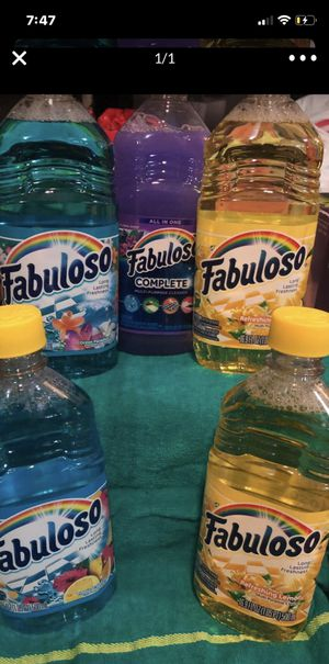 Fabuloso cleaning Supplies for Sale in Dudley, NC