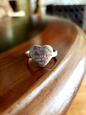 Tiffany & Co. Sterling Silver Heart Ring for Sale in Anaheim, CA