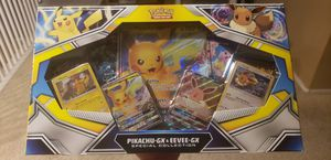 Pikachu & Eevee GX Special Collection TCG New for Sale in Las Vegas, NV