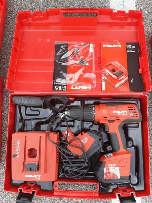 In great working condition, includes its original protective hard case, electric power tool, hammer drill setting for Sale in Taylorsville, UT