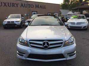 2013 Mercedes-Benz C-Class C 250/PANORAMI ROOF $2999DOWN*$330MONTH - $12998 (7414 N FLORIDA AVE TAMPA 33604 PLEASE ask for Toris luxury auto mall