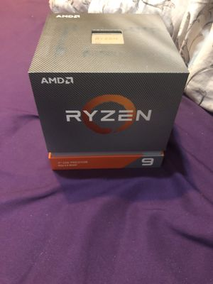used AMD Ryzen 9 3900X with original accessories for Sale in Tempe, AZ