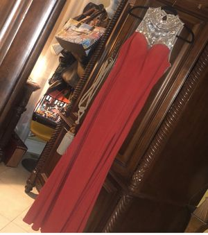 Long prom dress size 10 for Sale in Hialeah, FL
