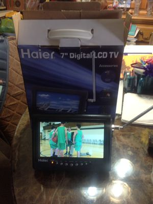 TV HAIER LCD SCREEN 7 WIDE BRAND NEW NEVER USED for Sale in Miami, FL