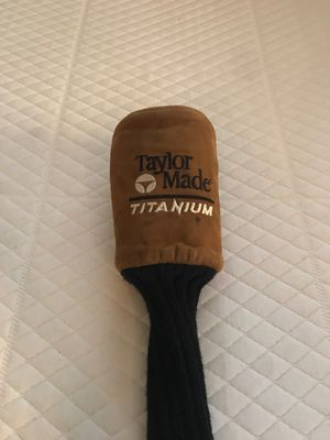 Taylor Made, Suede Longneck Golf Head Cover for Sale in Placentia, CA