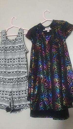 Girls dress and romper M size 6 lularoe oldnavy for Sale in Fresno, CA