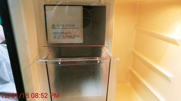 Uline, This is a Uline ,under the counter ,Refrigerator/ icemaker  for Sale  in Oklahoma City, OK - OfferUp