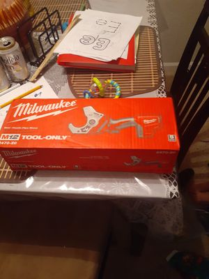 Milwaukee pipe cutter for Sale in Concord, CA