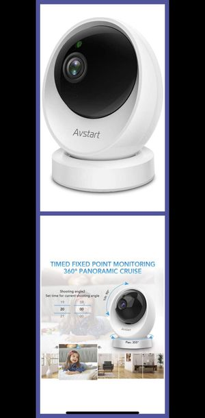Wireless Camera with AI Human Detection, Night Vision, Home Security Camera 2-Way Audio, Pan/Tilt/Zoom WiFi for Sale in Alhambra, CA