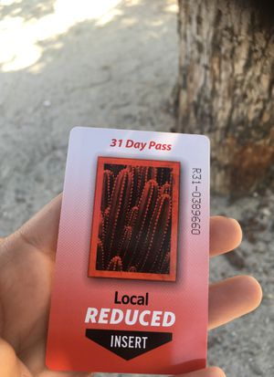 31 day bus pass for Sale in Phoenix, AZ