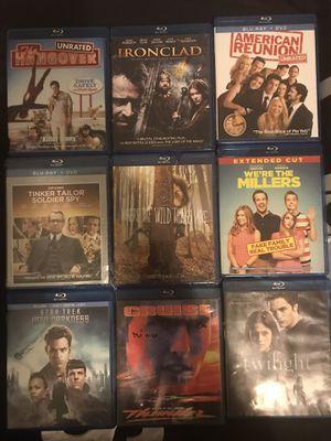 Blu ray movies for Sale in Stockton, CA