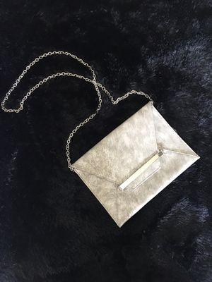 Silver Crossbody Bag or Clutch for Sale in Kennesaw, GA