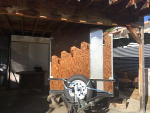 5ft x 8 ft w/6ft sides sporty hauling utility trailer for Sale in Tujunga, CA