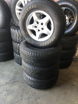 16 Inch Mercedes Benz ML350 Rims and tires for Sale in Corona, CA