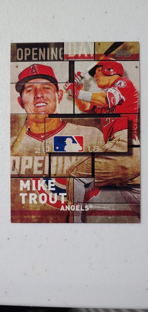 Mike Trout Baseball Cards for Sale in Katy, TX