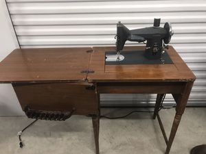 Antique Kenmore sewing machine with cabinet for Sale in Irving, TX