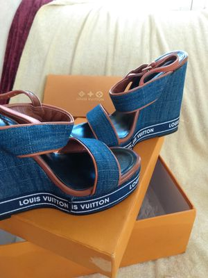 Size 41 Louis Vuitton women's shoes for Sale in Hesperia, CA