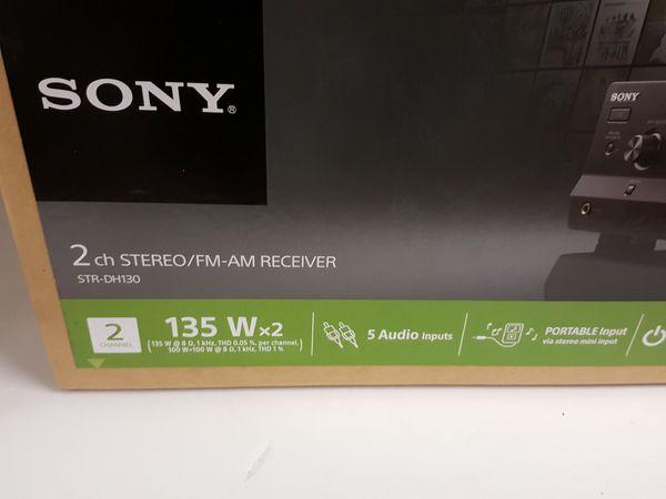 SONY 2 Channel Reciever Brand New