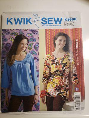Kwik Sew K3986 sewing Pattern for Sale in Sanford, FL