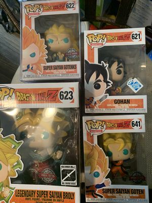 Dragonball Z Funko collection for Sale in Phoenix, AZ