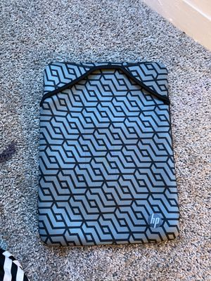 "15 "" hp laptop travel sleeve for Sale in Hainesport, NJ"