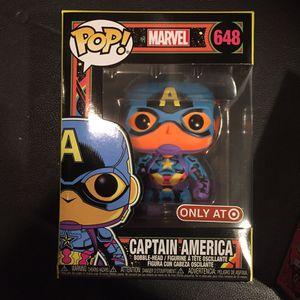 Funko Captain America Black light pop corner damage for Sale in San Diego, CA