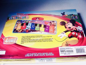 Mickey Mouse Mat Memory Game for Sale in Raleigh, NC